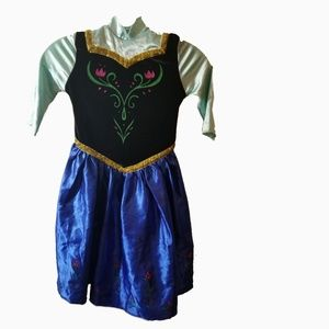 Disney Princess Anna Frozen costume dress 6/8